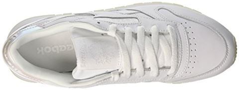 Reebok Classic  CL LTHR L  women's Shoes (Trainers) in white Image 7