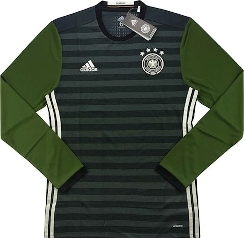 adidas Germany Mens LS Player Issue Away Shirt 2015 Image 2