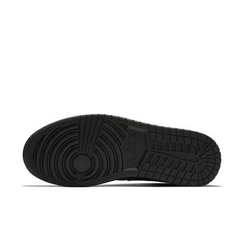 Nike Air Jordan 1 Mid Men's Shoe - Black Image 5