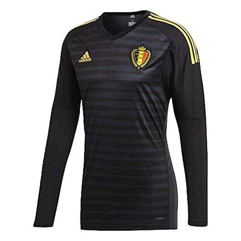 adidas Belgium Mens LS Goalkeeper Home Shirt 2018 Image