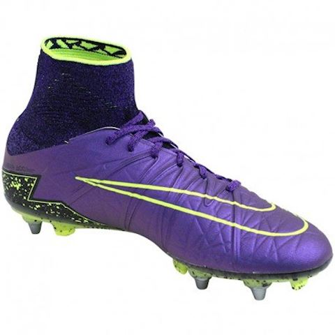 newest collection f9704 01146 Nike Hypervenom Phantom II SG Football Boots Purple