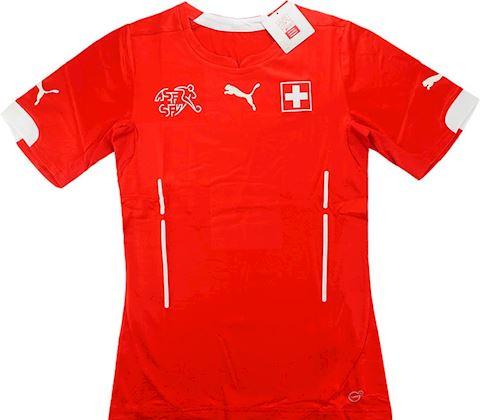 Puma Switzerland Mens SS Player Issue Home Shirt 2014 Image