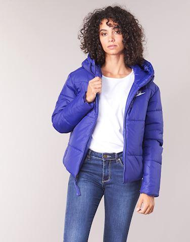 Nike  SHORT SPORT  women's Jacket in Blue Image 2