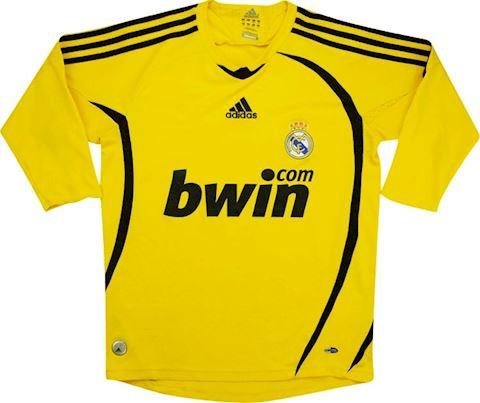 adidas Real Madrid Kids LS Goalkeeper Home Shirt 2008/09 Image