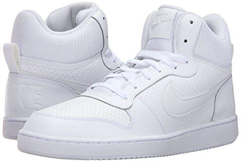 NikeCourt Borough Mid Men's Shoe - White Image 6