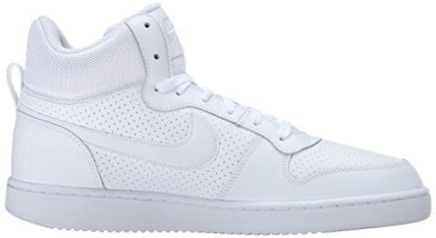 NikeCourt Borough Mid Men's Shoe - White Image 7