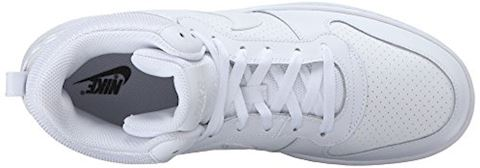 NikeCourt Borough Mid Men's Shoe - White Image 8