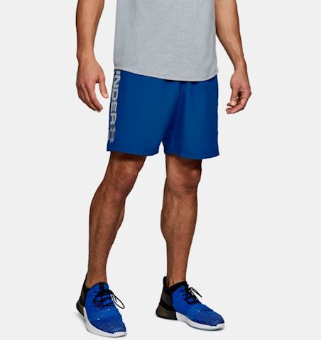 Under Armour Men's UA Woven Graphic Wordmark Shorts Image