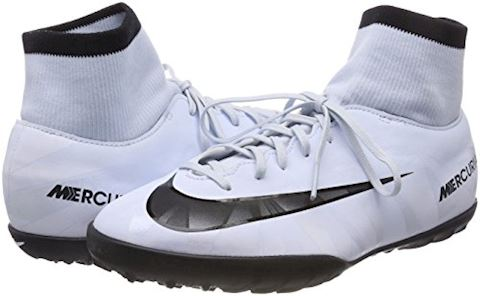 Nike Jr. MercurialX Victory VI Dynamic Fit CR7 Younger/Older Kids'Artificial-Turf Football Shoe - White Image 5