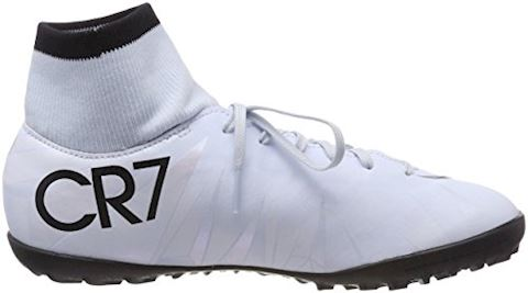 Nike Jr. MercurialX Victory VI Dynamic Fit CR7 Younger/Older Kids'Artificial-Turf Football Shoe - White Image 6
