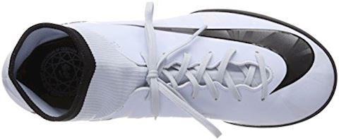 Nike Jr. MercurialX Victory VI Dynamic Fit CR7 Younger/Older Kids'Artificial-Turf Football Shoe - White Image 7