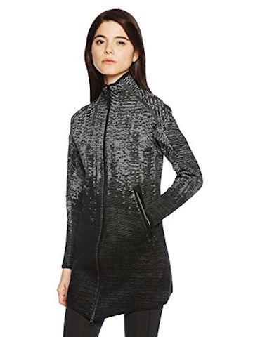 adidas Womens Z.N.E Pulse Knit Zip Sweater Black Image