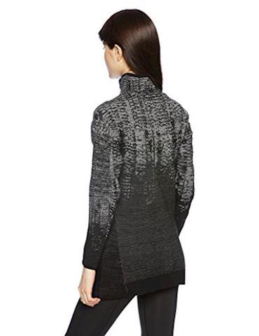 adidas Womens Z.N.E Pulse Knit Zip Sweater Black Image 2