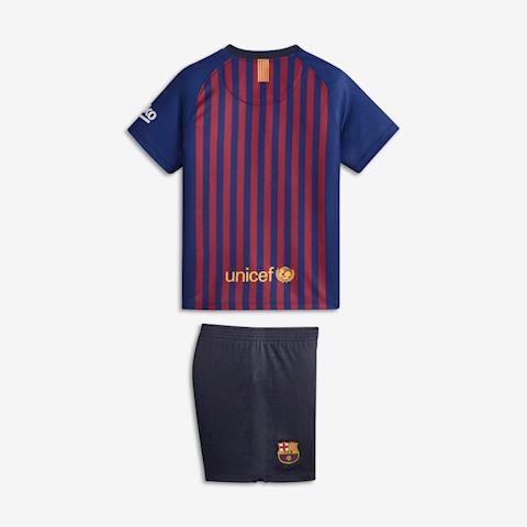 Nike Barcelona Kids SS Home Mini Kit 2018/19 Image 2