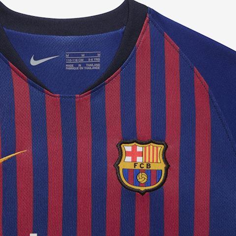 Nike Barcelona Kids SS Home Mini Kit 2018/19 Image 3