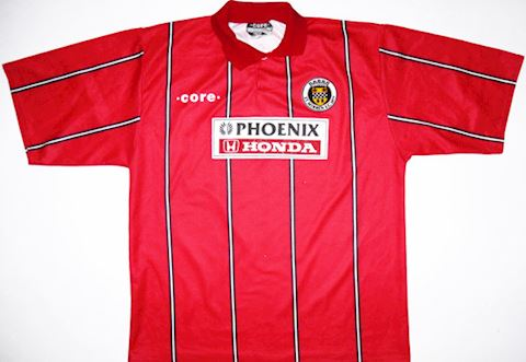 St Mirren Mens SS Away Shirt 1995/96 Image