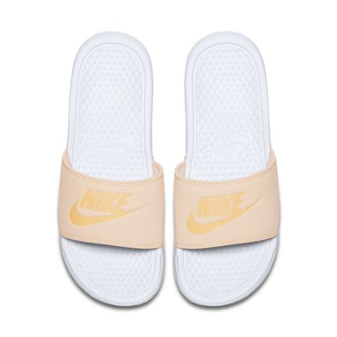 Nike Benassi Pastel QS Women's Slide - Orange Image 4