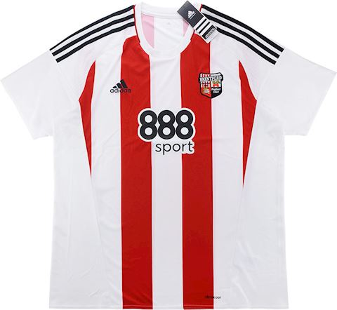 adidas Brentford Mens SS Home Shirt 2016/17 Image