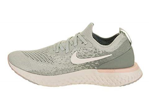 Nike Epic React Flyknit Women's Running Shoe - Silver Image 2