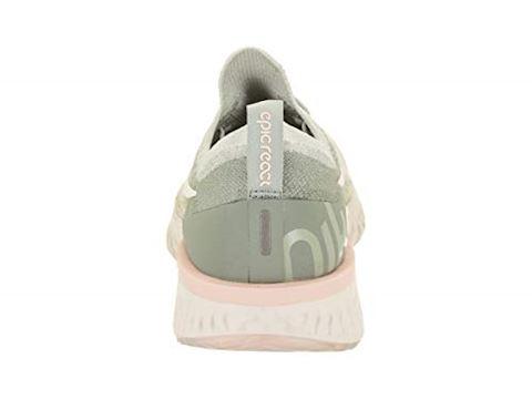 Nike Epic React Flyknit Women's Running Shoe - Silver Image 3