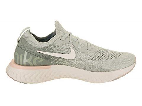 Nike Epic React Flyknit Women's Running Shoe - Silver Image 5