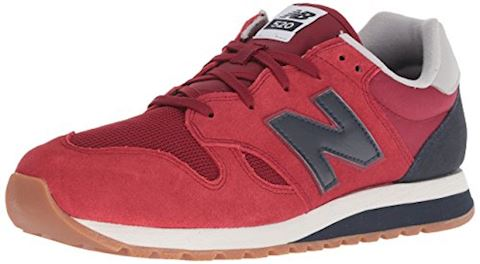 New Balance  U520  women's Shoes (Trainers) in Red Image
