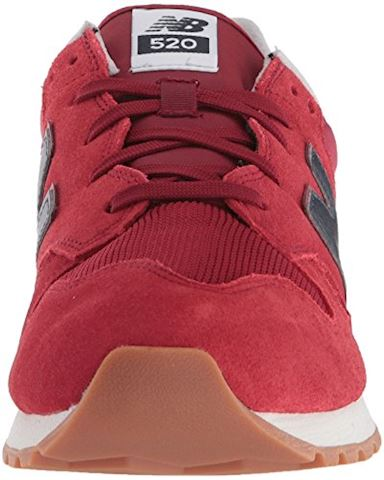 New Balance  U520  women's Shoes (Trainers) in Red Image 4