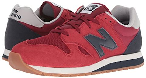 New Balance  U520  women's Shoes (Trainers) in Red Image 5