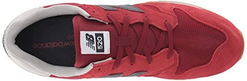 New Balance  U520  women's Shoes (Trainers) in Red Image 7