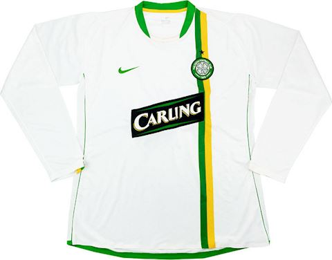 Nike Celtic Mens LS Player Issue Home European Shirt 2006/08 Image