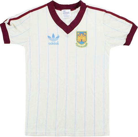 adidas West Ham United Mens SS Away Shirt 1983/85 Image