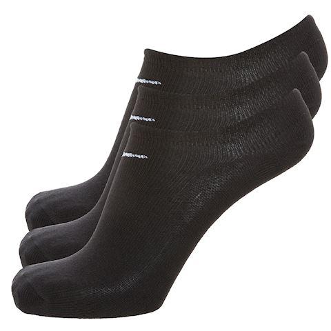 Nike Value No-Show Socks (3 pair) - Black Image