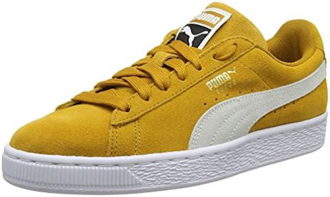 huge selection of 0ab48 fb1be Puma SUEDE CLASSIC.BUCKTH-WH-WH men's Shoes (Trainers) in Yellow