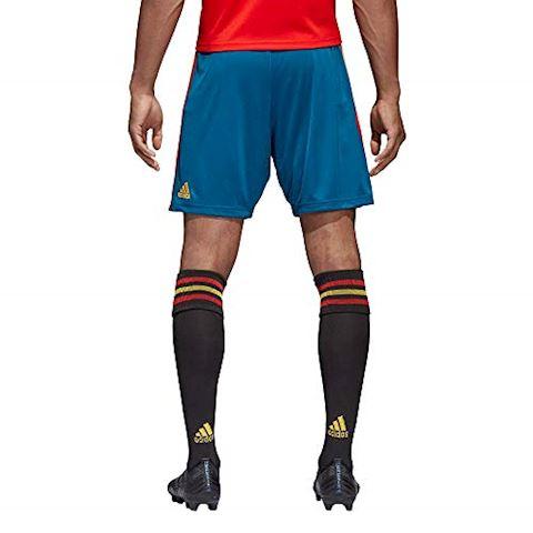 adidas Spain Mens Home Shorts 2018 Image 4