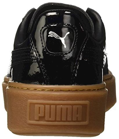 Puma Basket Platform Patent Women's Trainers Image 2