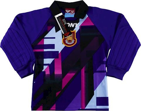 West Ham United Kids LS Goalkeeper Home Shirt 1997/98 Image