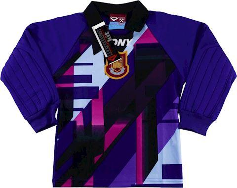 West Ham United Kids LS Goalkeeper Home Shirt 1997/98 Image 2