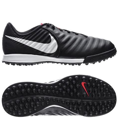 best loved 45f7d 4edb6 Nike Tiempo Legend 7 Academy TF Raised On Concrete - Black/Pure  Platinum/Light Crimson Kids