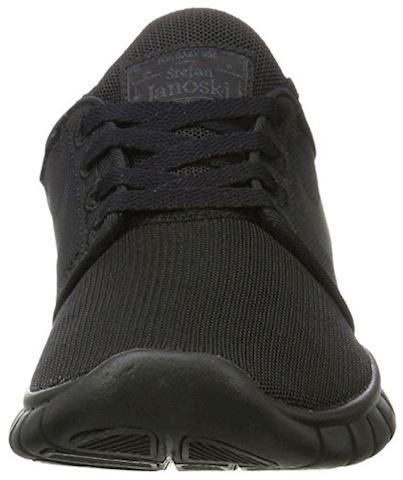 Nike SB Stefan Janoski Max Men's Skateboarding Shoe - Black Image 4