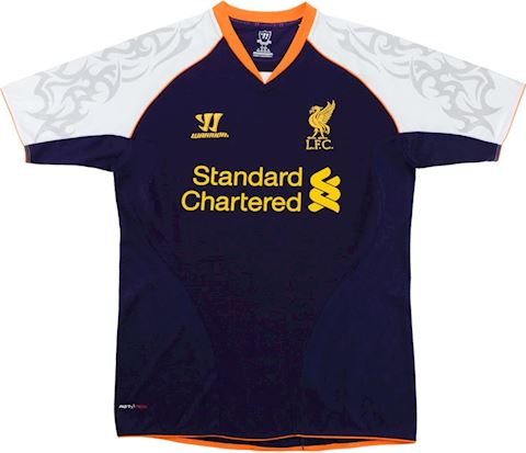 Warrior Liverpool Kids SS Third Shirt 2012/13 Image 2