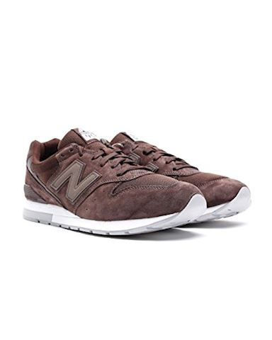 New Balance  MRL996  women's Shoes (Trainers) in Brown Image 2