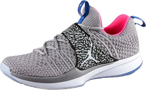 Nike Air Jordan Trainer 2 Flyknit Men's Training Shoe - Grey Image 2