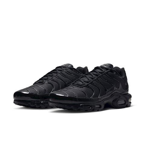 Nike Air Max Plus Men's Shoe - Black Image 2