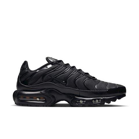 Nike Air Max Plus Men's Shoe - Black Image 3