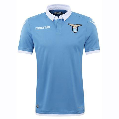 Macron Lazio Mens SS Player Issue Home Shirt 2016/17 Image