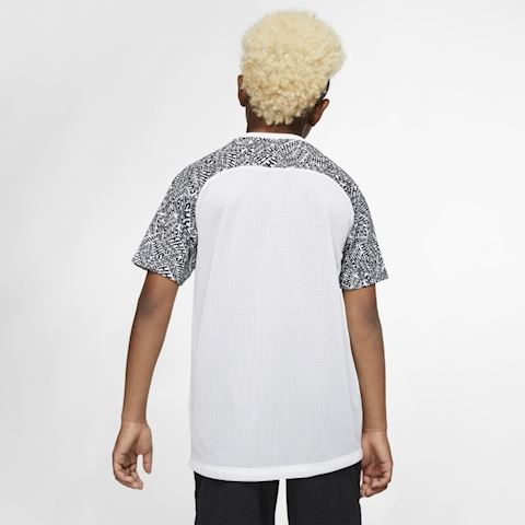 Nike Dri-FIT Neymar Jr. Older Kids' Short-Sleeve Football Top - White Image 2