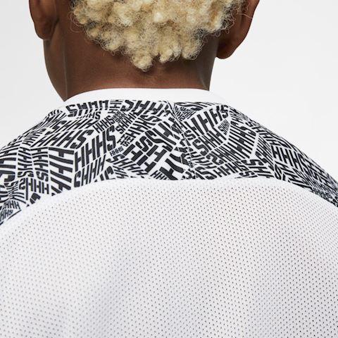 Nike Dri-FIT Neymar Jr. Older Kids' Short-Sleeve Football Top - White Image 4