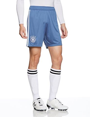 adidas Germany Mens Goalkeeper Home Shorts 2018 Image