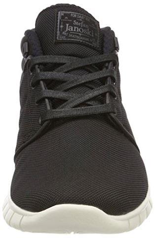 Nike SB Stefan Janoski Max Mid Men's Skateboarding Shoe - Black Image 11