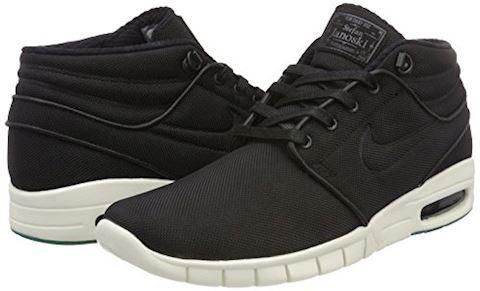 Nike SB Stefan Janoski Max Mid Men's Skateboarding Shoe - Black Image 12